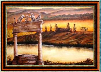 Alba e tramonto - Opera di Anna Maria Guarnieri