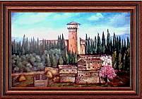 Il castello di Trebbio - L'opera é stata sorteggiata tra tutti i visitatori