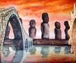 Verso altre civiltà - opera di Anna Maria Guarnieri