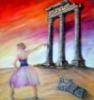La danza delle civiltà - Opera dell'artista Anna Maria Guarnieri